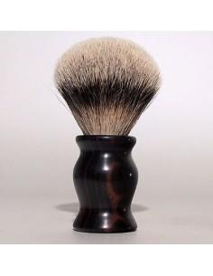 Pennello da barba in Ebano