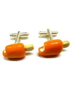 Gemelli a forma di Gelati Arancioni