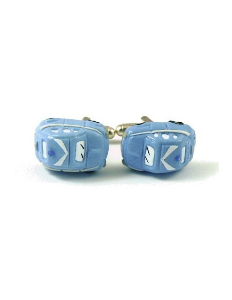 Italian police's 500-shaped cufflinks