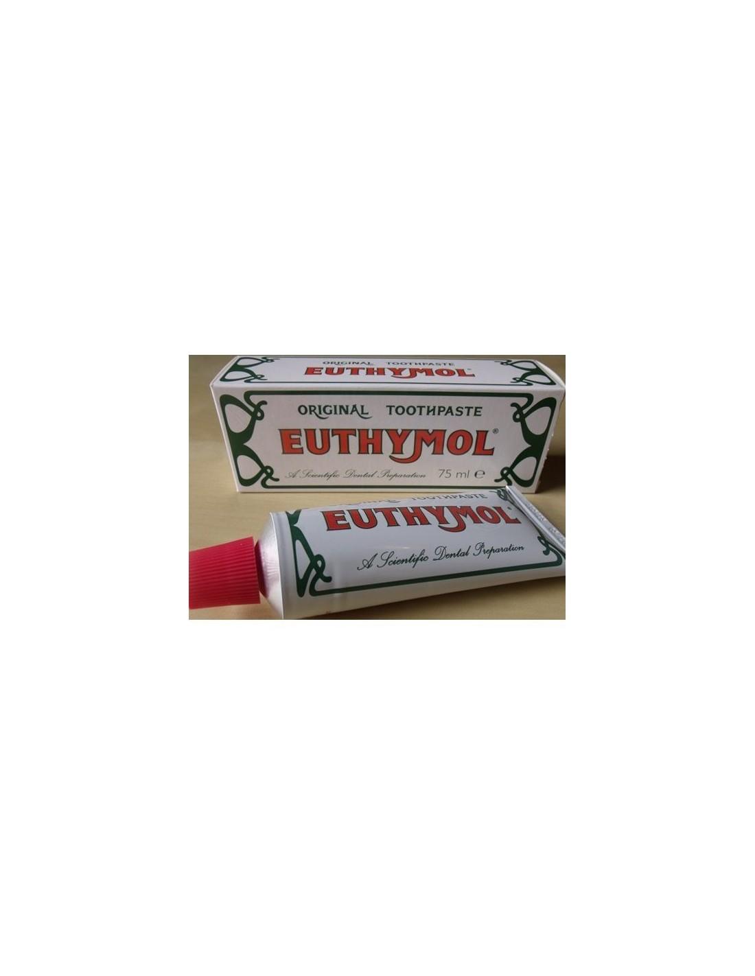Euthymol original toothpaste 75ml coltelleria lorenzi milano - Keep toothpaste kitchen ...