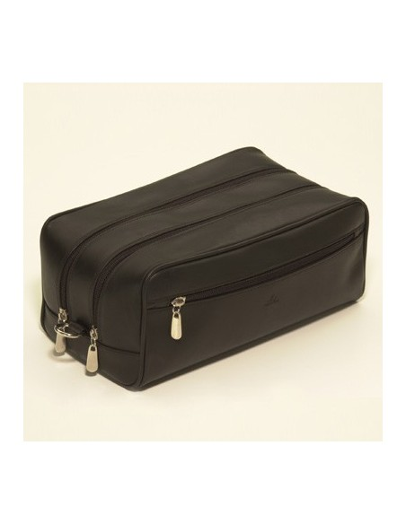 Large leather beauty case