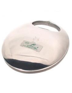 Levacapsule ovale in acciaio