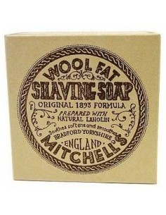Mitchell's Wool Fat Soap Shaving Soap Refill 125 g