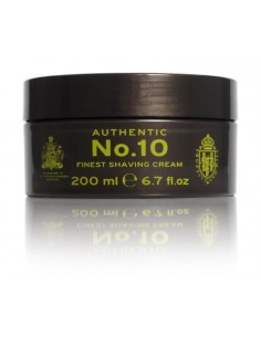 Authentic No.10 Finest Shaving Cream 200ml