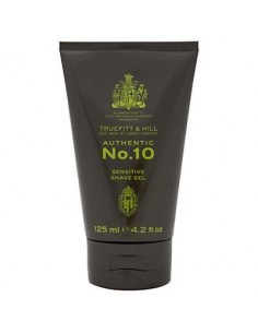 Authentic No.10 Sensitive Shaving Gel 125ml