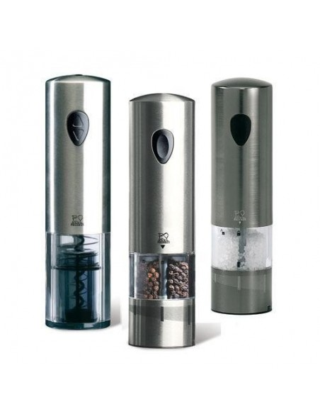 Pepper and salt mill + Cork screw Elis trio 24307