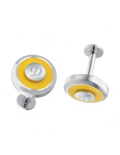 Jeton cuff links Yellow 005916