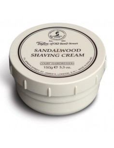 Shaving cream for shaving brush