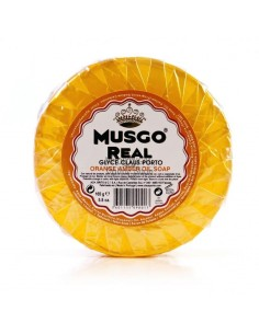 Musgo Real Glycerine Oil Soap Orange Amber 165 gr