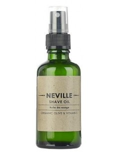 Olio per Rasatura Neville all'Oliva Organica e Vitamina E 50 ml Spray