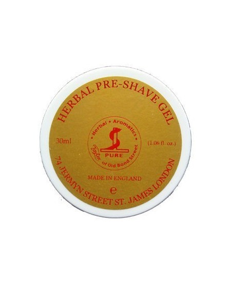 Herbal pre-shave gel 30ml