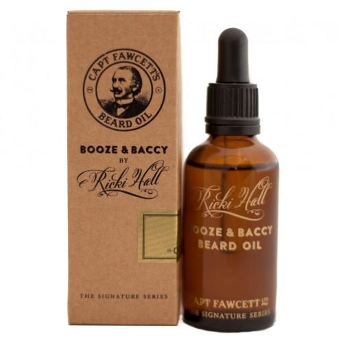 Olio per Barba Ricki Hall's Booze & Baccy Beard Oil 50ml