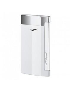 Accendino Jet Flame White Lacquer Slim 7