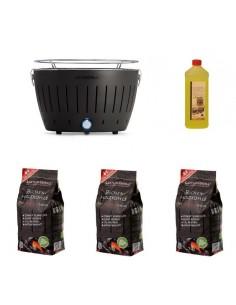 Offerta - Lotus Grill + 3 Kg Carbonella + Gel 1 Lt