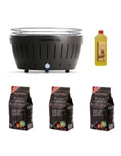Offerta - Lotus Grill XL + 3 Kg Carbonella + Gel 1 Lt