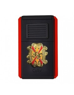 Accendino da Sigaro Astoria for Opus X Black Red
