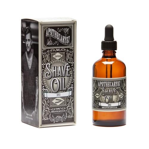 Shave Oil Vanilla & Sandalo