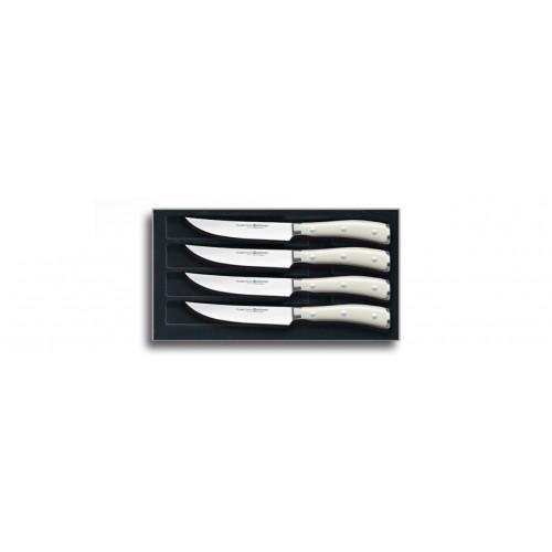Set Coltelli da Bistecca 4 pz Ikon Crema
