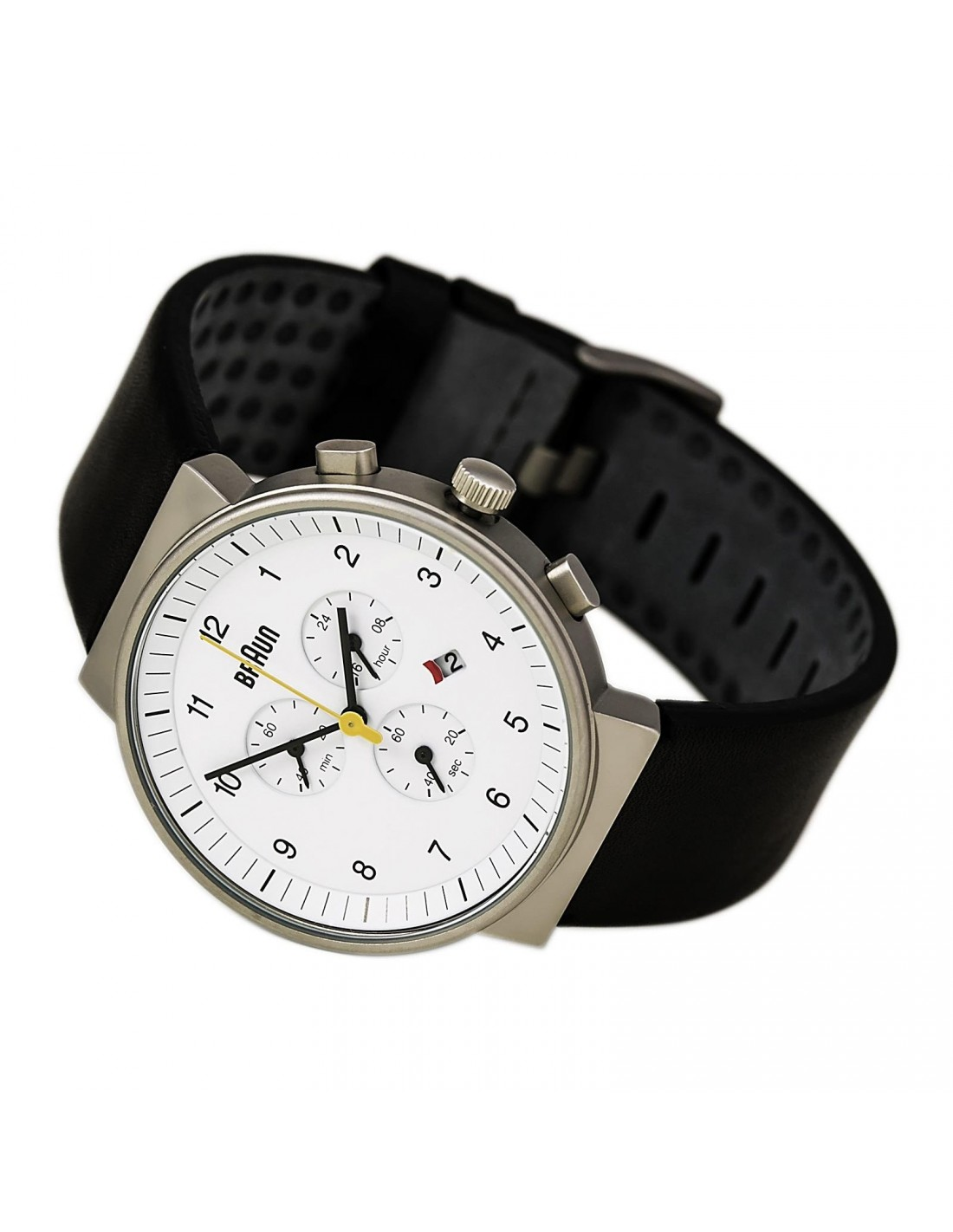 a5cd243078f2c Gents BN0035 Classic Chronograph Watch with Leather Strap